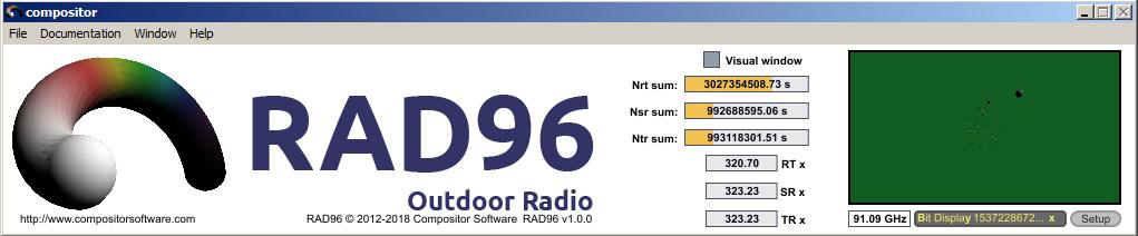 Операционная система спектрального поляризатора RAD96